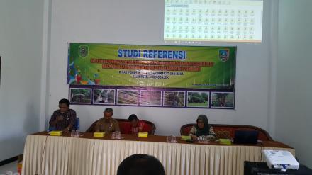 STUDI REFERENSI SID DAN SISKEUDES, Kunjungi Desa Percontohan di Jombang